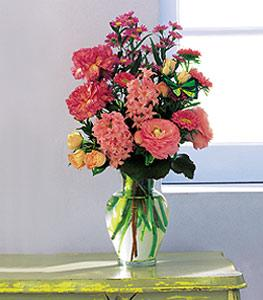 Pink spring bouquet brownwood tx florist davis floral company pink spring bouquet by davis floral comany your brownwood texas tx florist mightylinksfo
