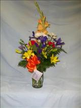 Spring Iris by Davis Floral Comany, your Brownwood, Texas (TX) Florist