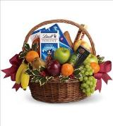 Fruits and Sweets Christmas Basket by Davis Floral Comany, your Brownwood, Texas (TX) Florist