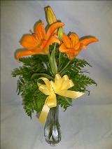 Lily Bouquet by Davis Floral Comany, your Brownwood, Texas (TX) Florist