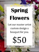A Custom Spring Flower Bouquet by Davis Floral Comany, your Brownwood, Texas (TX) Florist