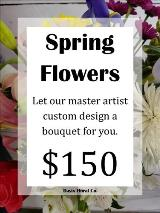 A Custom Spring Flower Bouquet 4 by Davis Floral Comany, your Brownwood, Texas (TX) Florist