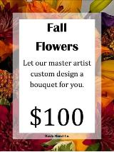 A Custom Fall Flowers Bouquet 4 by Davis Floral Comany, your Brownwood, Texas (TX) Florist