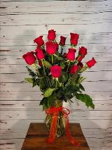 18 Long Stem Red Roses by Davis Floral Comany, your Brownwood, Texas (TX) Florist