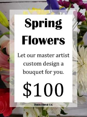 A Custom Spring Flower Bouquet 3 by Davis Floral Comany, your Brownwood, Texas (TX) Florist