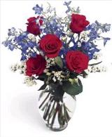 Rose Fest Bouquet by Davis Floral Comany, your Brownwood, Texas (TX) Florist