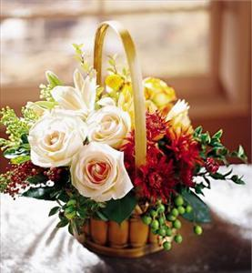 Bountiful Garden Bouquet by Davis Floral Comany, your Brownwood, Texas (TX) Florist