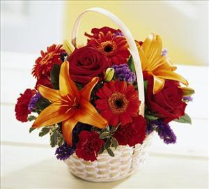 Fun in the Sun Basket by Davis Floral Comany, your Brownwood, Texas (TX) Florist
