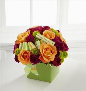 Birthday Bouquet by Davis Floral Comany, your Brownwood, Texas (TX) Florist