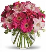 A Little Pink Me Up Bouquet by Davis Floral Comany, your Brownwood, Texas (TX) Florist
