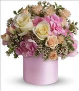 Blushing Beauty by Davis Floral Comany, your Brownwood, Texas (TX) Florist