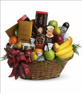 The Ultimate Christmas Basket by Davis Floral Comany, your Brownwood, Texas (TX) Florist