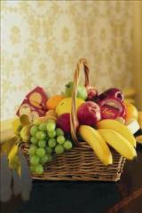 Cheese, Crackers & Fruit Basket by Davis Floral Comany, your Brownwood, Texas (TX) Florist