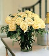 White Roses by Davis Floral Comany, your Brownwood, Texas (TX) Florist
