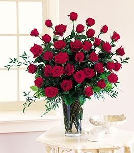 Three Dozen Red Roses by Davis Floral Comany, your Brownwood, Texas (TX) Florist