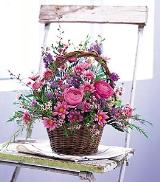 Basket of Blossoms by Davis Floral Comany, your Brownwood, Texas (TX) Florist