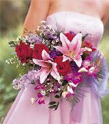 Attendant's Arm Bouquet by Davis Floral Comany, your Brownwood, Texas (TX) Florist