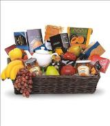 Grande Gourmet Fruit Basket by Davis Floral Comany, your Brownwood, Texas (TX) Florist