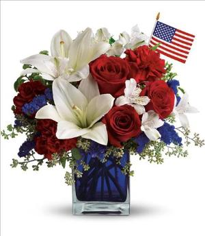 America the Beautiful by Teleflora by Davis Floral Comany, your Brownwood, Texas (TX) Florist