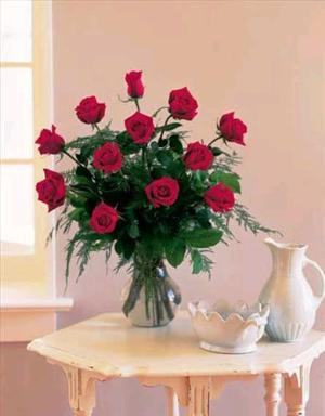 One Dozen Red Roses by Davis Floral Comany, your Brownwood, Texas (TX) Florist