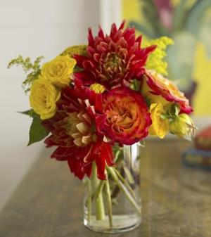 Dazzling Dahlias by Davis Floral Comany, your Brownwood, Texas (TX) Florist