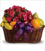 Fruits and Blooms Basket by Davis Floral Comany, your Brownwood, Texas (TX) Florist