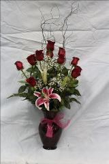 Sexy Red by Davis Floral Comany, your Brownwood, Texas (TX) Florist