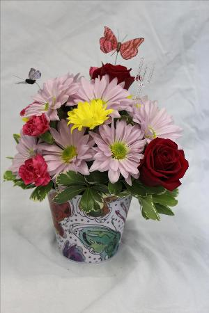 Butterfly Gardener by Davis Floral Comany, your Brownwood, Texas (TX) Florist