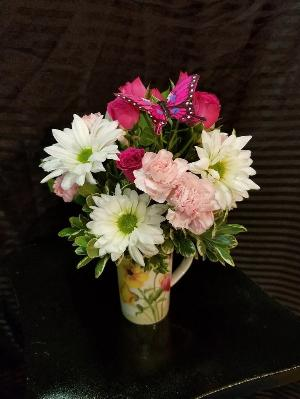 Cup of Joy by Davis Floral Comany, your Brownwood, Texas (TX) Florist