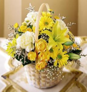 Flourishing Garden™Basket by Davis Floral Comany, your Brownwood, Texas (TX) Florist