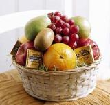 Fruit and Chocolate Basket by Davis Floral Comany, your Brownwood, Texas (TX) Florist