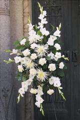 All-White Spray by Davis Floral Comany, your Brownwood, Texas (TX) Florist