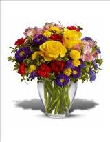 Bright & Cheery Arrangement by Davis Floral Comany, your Brownwood, Texas (TX) Florist