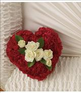 A Devoted Heart Casket Insert by Davis Floral Comany, your Brownwood, Texas (TX) Florist