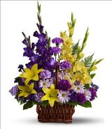 Basket of Memories by Davis Floral Comany, your Brownwood, Texas (TX) Florist